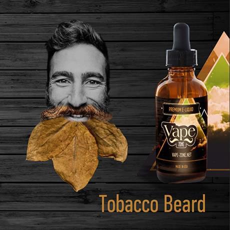 Жидкость для электронных сигарет Vape Zone: Tobacco Beard 30 мл