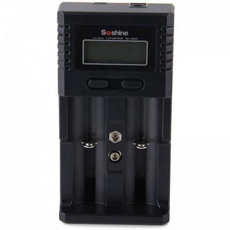 Зарядное устройство для аккумуляторных батарей Soshine H4 EU на 4шт