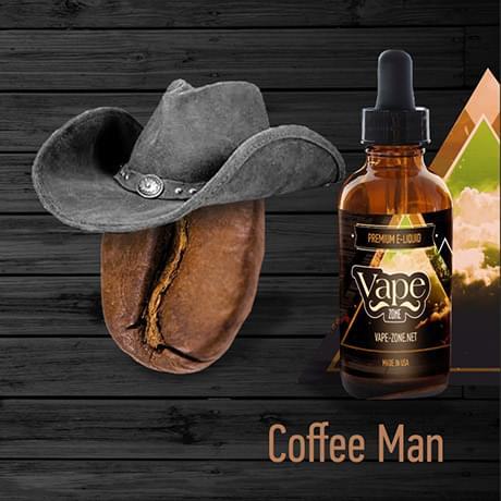 Жидкость для электронных сигарет Vape Zone: Coffee Man 30 мл