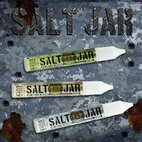 Встречайте Salt Jar - жидкость на солевом никотине