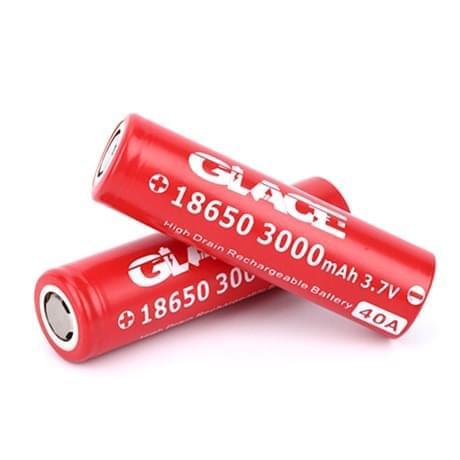 Аккумуляторная батарея Glace 18650 3000mah 30a