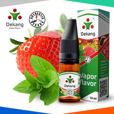 Жидкость для электронных сигарет Dekang Мятная Клубника