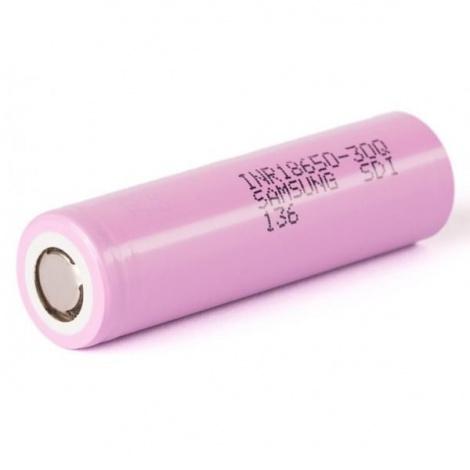 Аккумулятор 18650 Samsung INR 30Q 3000 mAh 30A 3.7V