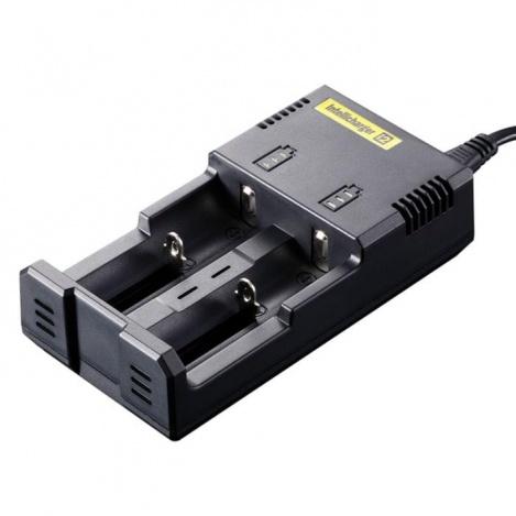 Зарядное устройство для аккумуляторных батарей Nitecore 220v на 2шт