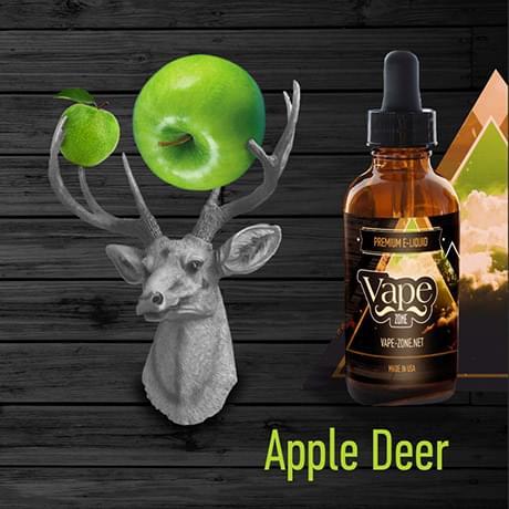 Жидкость для электронных сигарет Vape Zone: Apple Deer 30 мл