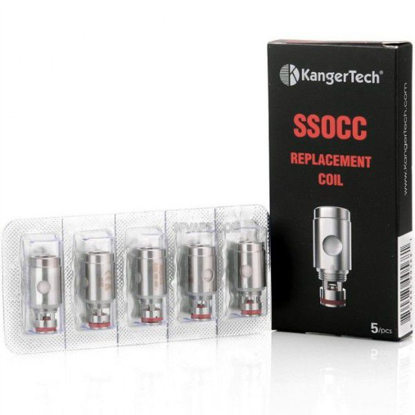 Сменный испаритель SSOCC 0.5 Ом Сталь для клиромайзера Kanger SUBTANK Mini