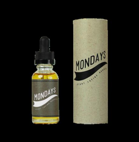 Премиум жидкость Mondays: Milk & Oats с заменителем никотина 30мл