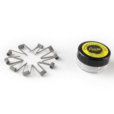 Готовая намотка CoilArt Staggered Fused 0.4 ohm 10шт