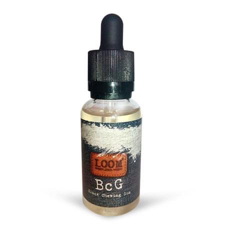 Премиум жидкость LOOM: BcG (Black Chewing Gum) 30мл