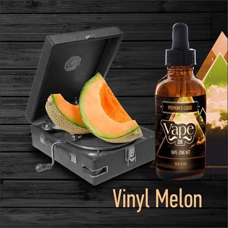Жидкость для электронных сигарет Vape Zone: Vinyl Melon 30 мл
