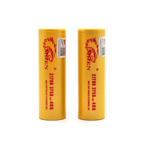 Аккумуляторная батарея IMREN 21700 3750mah 40a