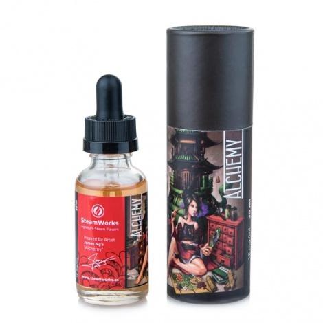 Экслюзив жидкость для электронных сигарет, Премиум серия SteamWorks, Chimera Vertigo