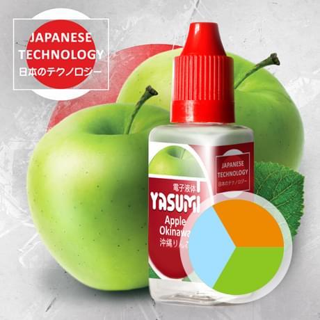 Фруктовая жидкость для электронных сигарет, Города Yasumi, Apple Okinawa