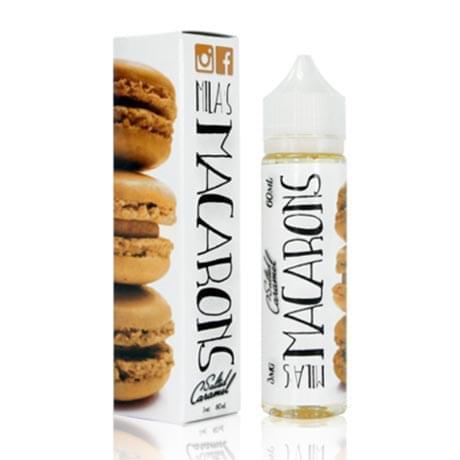 Жидкость для электронных сигарет Milas Macarons: Strawberry 60 мл