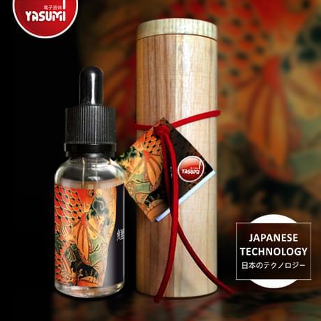 Жидкость для электронных сигарет Irezumi (Ирезуми): Turtle в тубусе