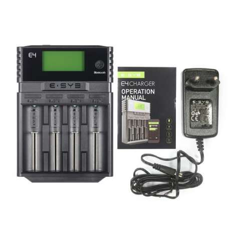 Зарядное устройство для аккумуляторных батарей ESYB E4 220v на 4шт с дисплеем