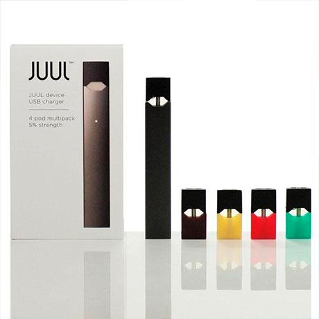 Стартовый набор электронная сигарета JUUL Pod система с 4 картриджами
