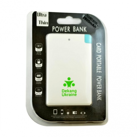Power Bank Dekang Ukraine 2600mAh