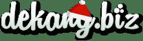 Новогодний логотип Dekang.biz
