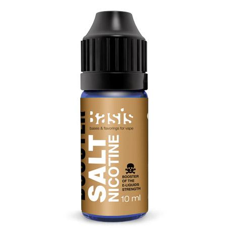 Усилитель крепости жидкости Basis Salt Nicotine Солевой Никотин